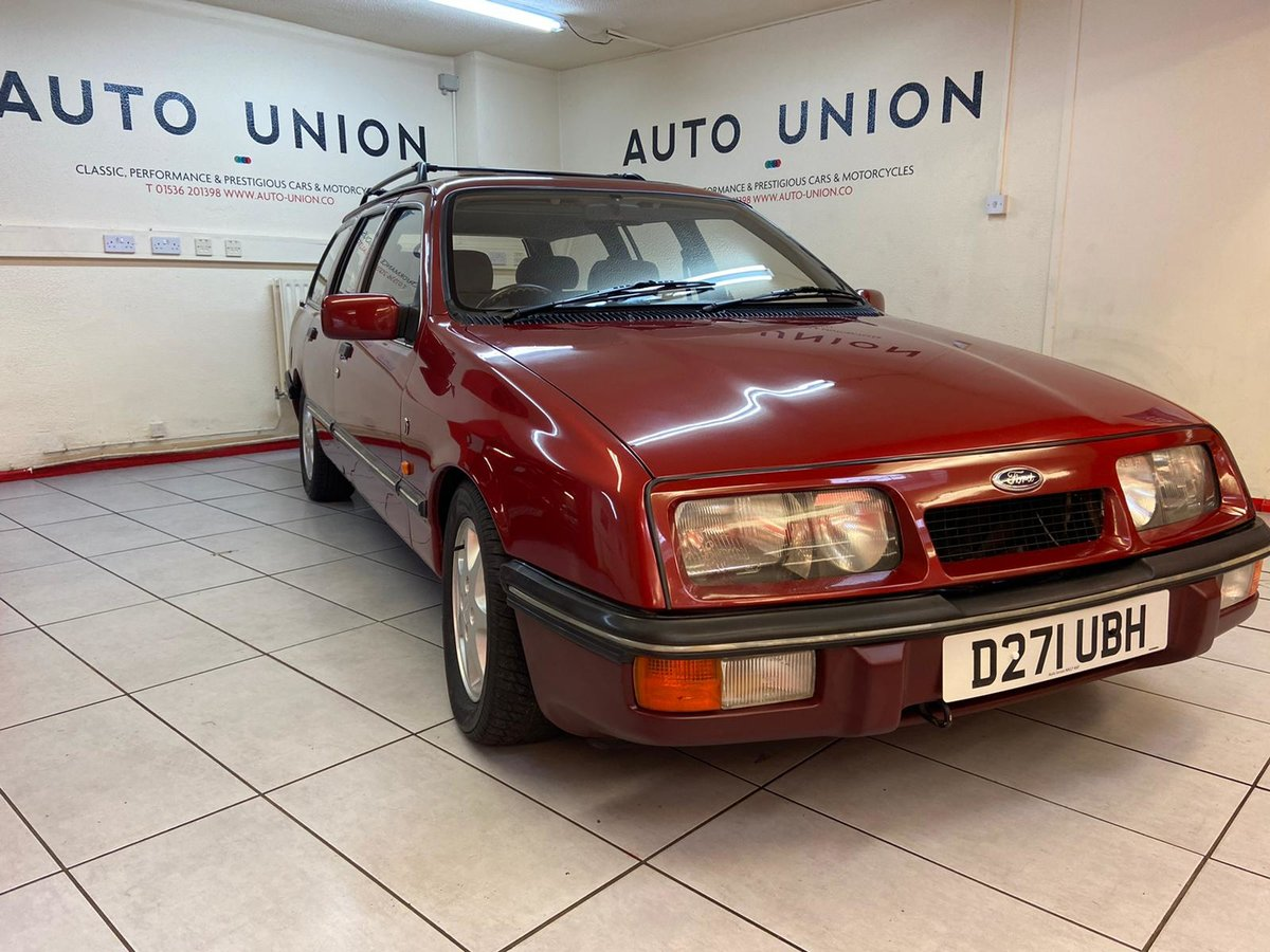 1986 FORD SIERRA GHIA XR4X4 ESTATE For Sale (picture 1 of 6)