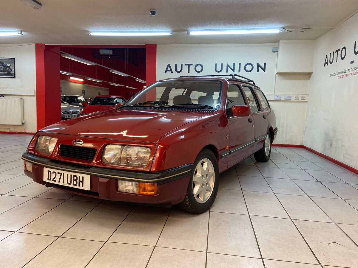 1986 FORD SIERRA GHIA XR4X4 ESTATE For Sale (picture 2 of 6)