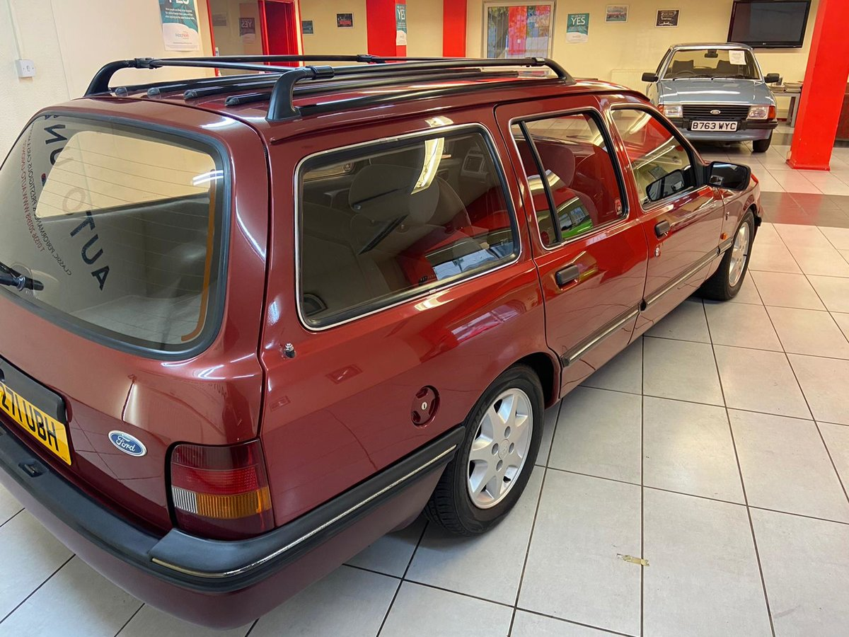 1986 FORD SIERRA GHIA XR4X4 ESTATE For Sale (picture 4 of 6)
