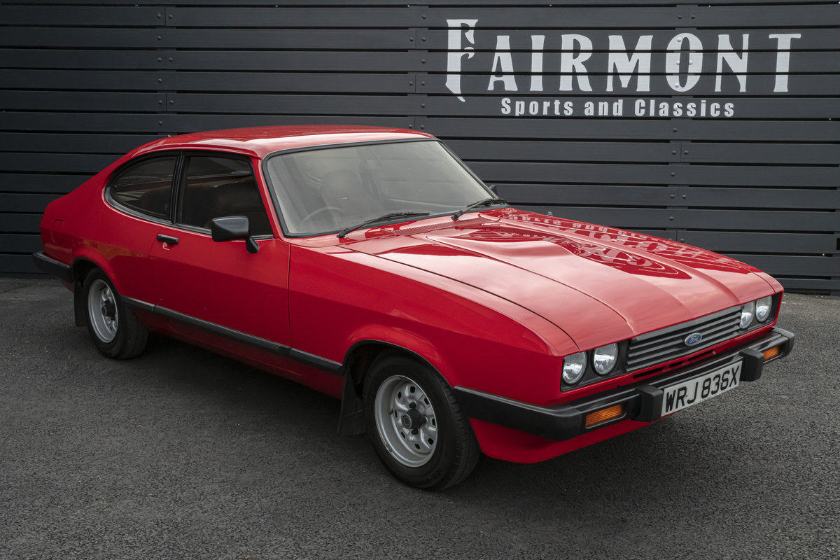 1982 Capri 1.6 GL MKIII - Only 35k miles SOLD (picture 1 of 11)