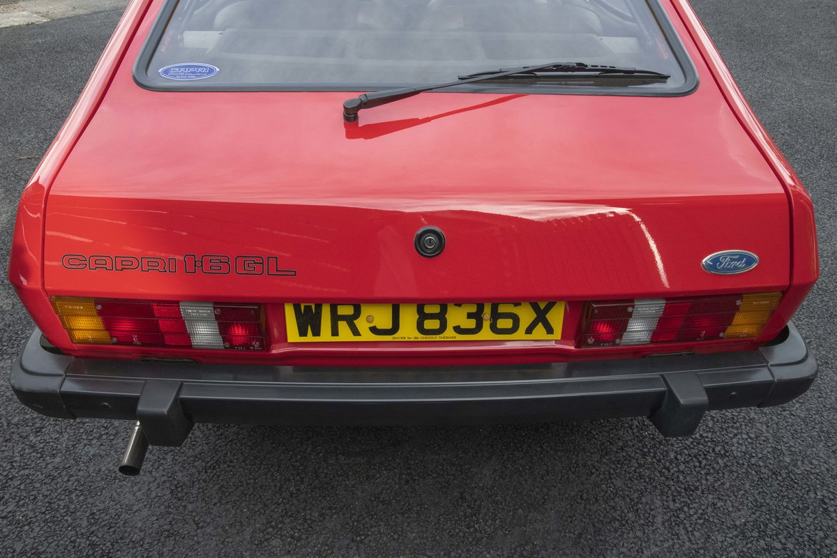 1982 Capri 1.6 GL MKIII - Only 35k miles SOLD (picture 5 of 11)