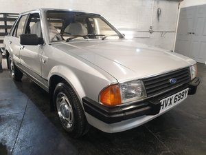 Ford Escort 1.3 Ghia from an incredible 36 year ownership