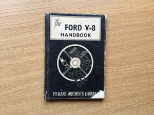 Ford V8 & PILOT Owners Handbook