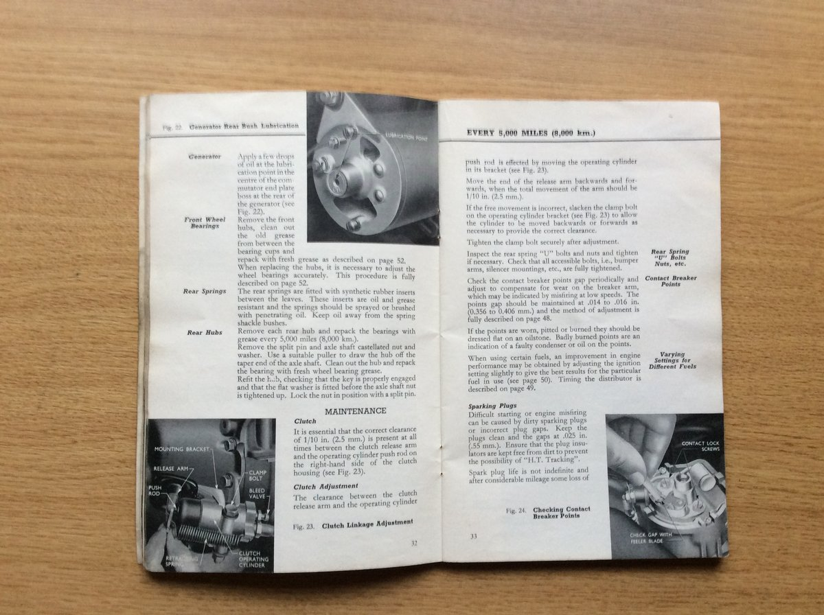 FORD ANGLIA/PREFECT INSTRUCTION BOOK For Sale (picture 2 of 3)