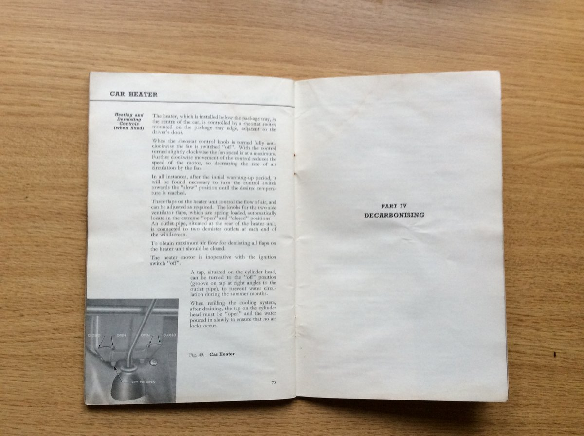 FORD ANGLIA/PREFECT INSTRUCTION BOOK For Sale (picture 3 of 3)