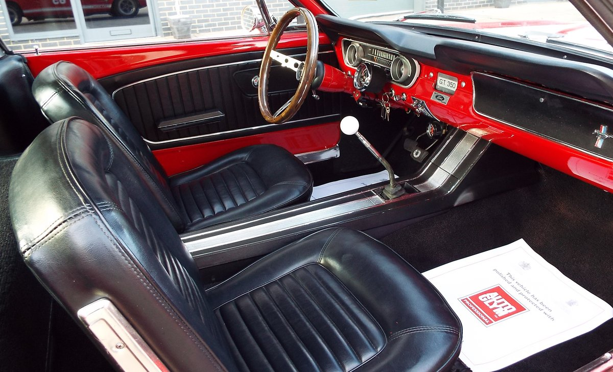 1965 Ford Mustang 4.7 V8 289 Manual Shelby GT350 Fastback For Sale (picture 3 of 12)