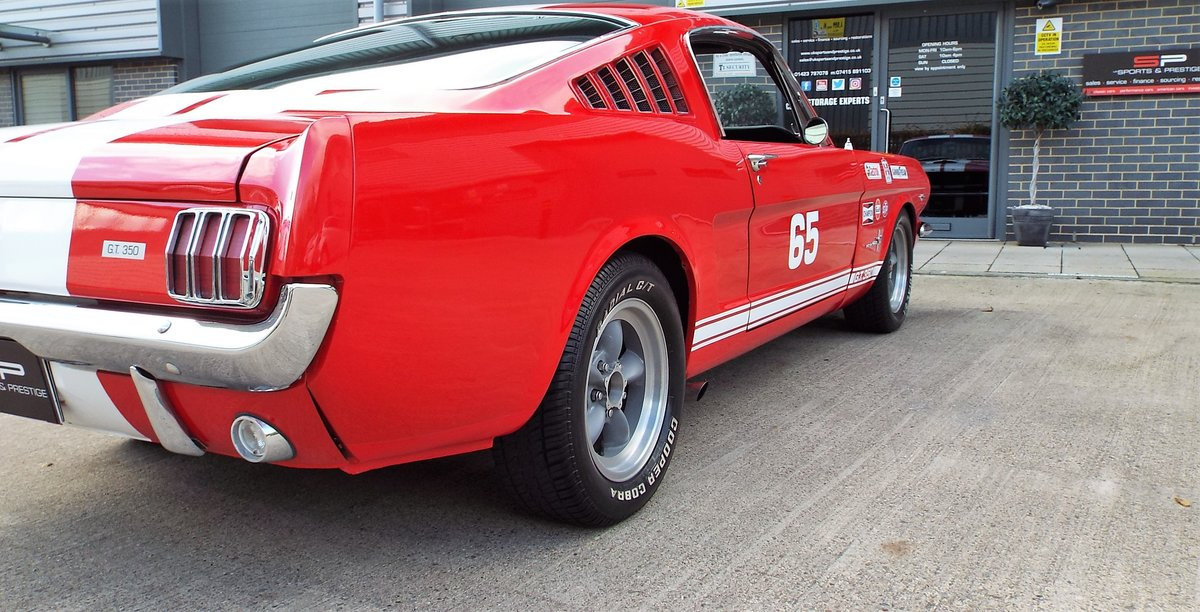 1965 Ford Mustang 4.7 V8 289 Manual Shelby GT350 Fastback For Sale (picture 5 of 12)