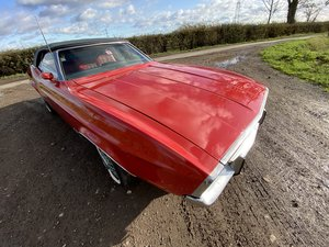 1972 Ford Mustang Convertible Red Auto V8 PROJECT