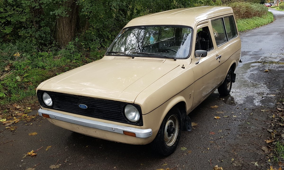 1975 Mk2 Ford Escort 30 Van For Sale (picture 2 of 6)