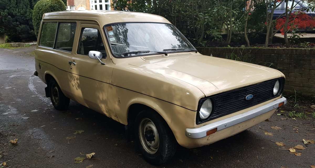 1975 Mk2 Ford Escort 30 Van For Sale (picture 3 of 6)