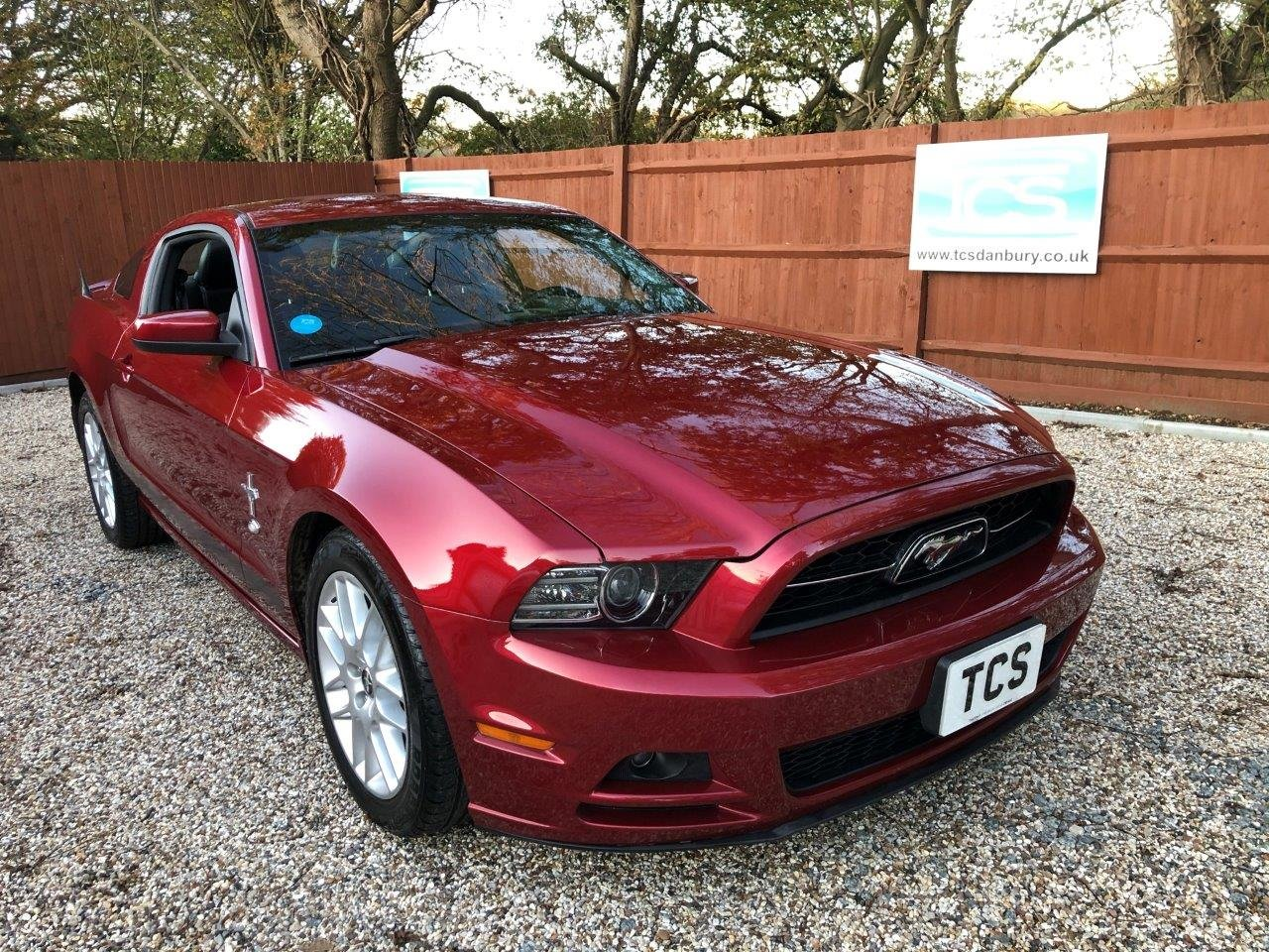 2014 15-Plate UK Registered Mustang Premium Fastback LHD Auto For Sale (picture 1 of 6)