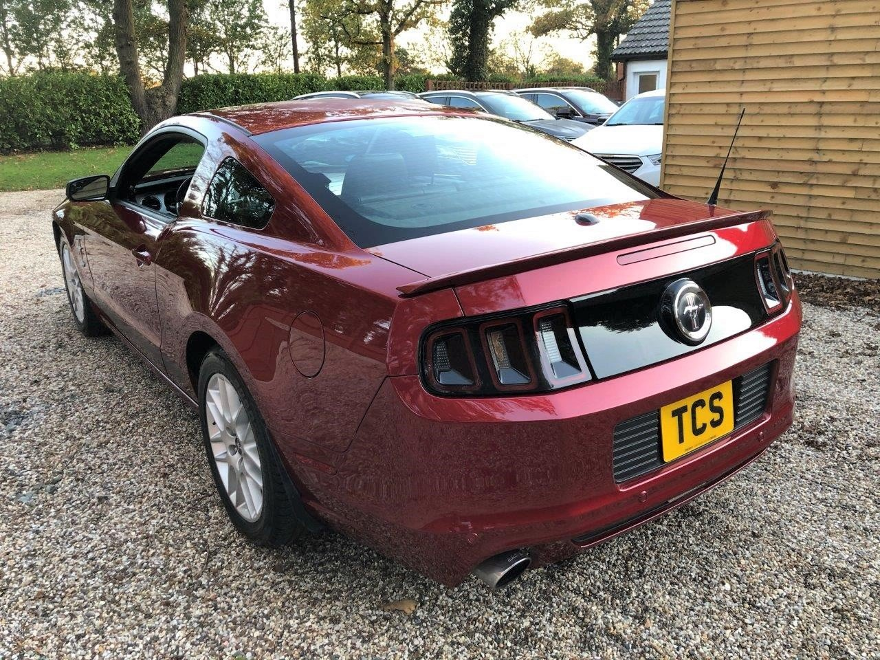 2014 15-Plate UK Registered Mustang Premium Fastback LHD Auto For Sale (picture 2 of 6)