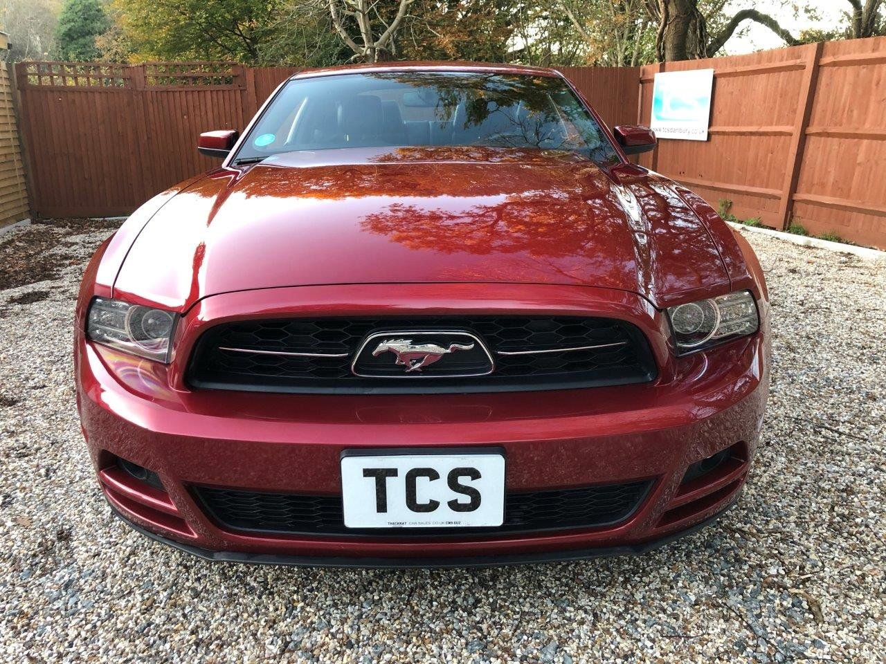 2014 15-Plate UK Registered Mustang Premium Fastback LHD Auto For Sale (picture 4 of 6)