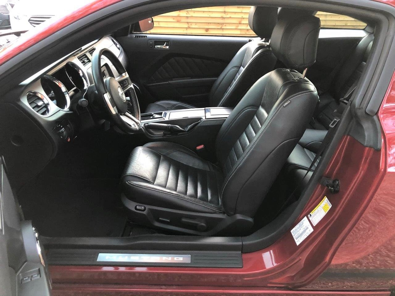 2014 15-Plate UK Registered Mustang Premium Fastback LHD Auto For Sale (picture 6 of 6)