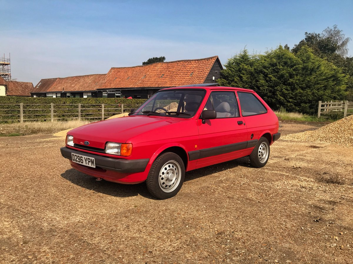 1987 Ford Fiesta 1.1L 34,000 miles For Sale (picture 1 of 6)