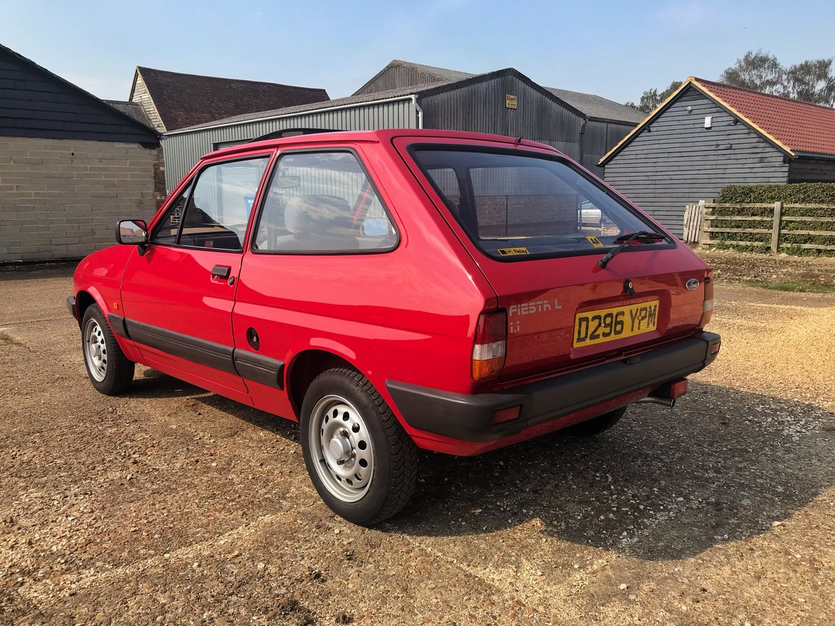 1987 Ford Fiesta 1.1L 34,000 miles For Sale (picture 2 of 6)