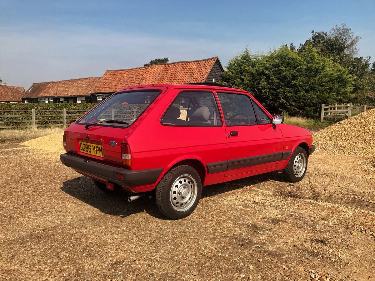1987 Ford Fiesta 1.1L 34,000 miles For Sale (picture 4 of 6)