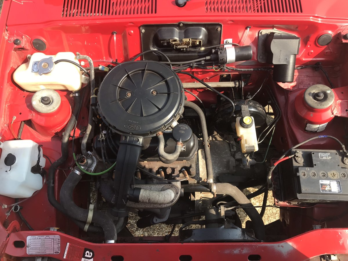 1987 Ford Fiesta 1.1L 34,000 miles For Sale (picture 5 of 6)
