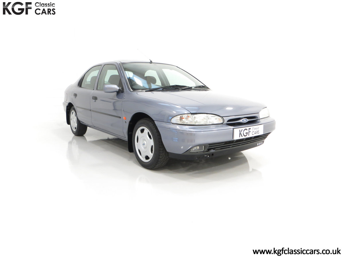 1996 Simply the Best Ford Mondeo Mk1 2.0 Si with 5,737 Miles SOLD (picture 1 of 24)
