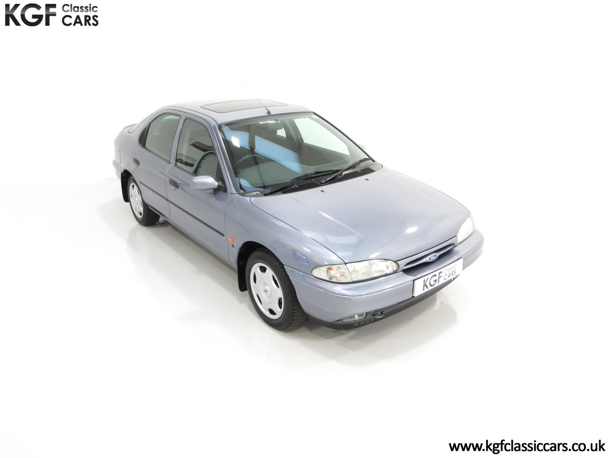 1996 Simply the Best Ford Mondeo Mk1 2.0 Si with 5,737 Miles SOLD (picture 2 of 24)