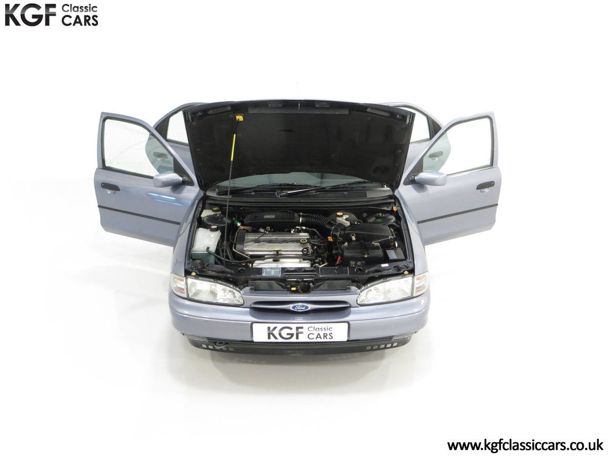 1996 Simply the Best Ford Mondeo Mk1 2.0 Si with 5,737 Miles SOLD (picture 4 of 24)