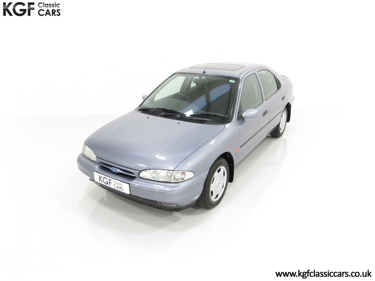 1996 Simply the Best Ford Mondeo Mk1 2.0 Si with 5,737 Miles SOLD (picture 5 of 24)