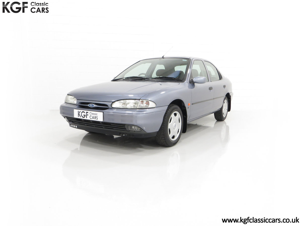 1996 Simply the Best Ford Mondeo Mk1 2.0 Si with 5,737 Miles SOLD (picture 6 of 24)