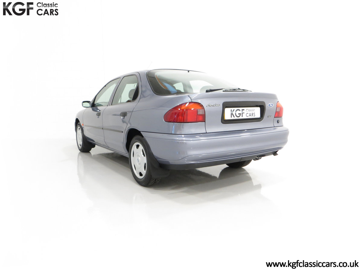 1996 Simply the Best Ford Mondeo Mk1 2.0 Si with 5,737 Miles SOLD (picture 8 of 24)