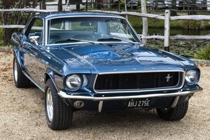 1967 Mustang 289 Automatic Coupe Arcadian Blue