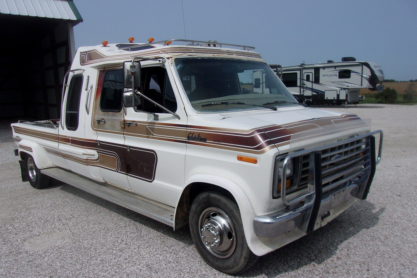 1987 Ford E350 Cabriolet Dually Van/Pickup For Sale (picture 1 of 6)