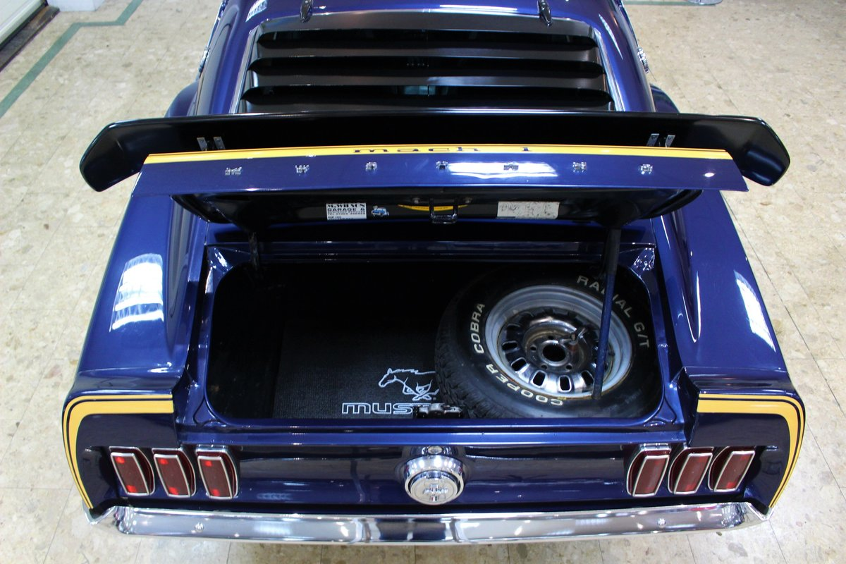 1969 Ford Mustang Mach 1 351 V8 Fastback Auto - Restored SOLD (picture 7 of 10)