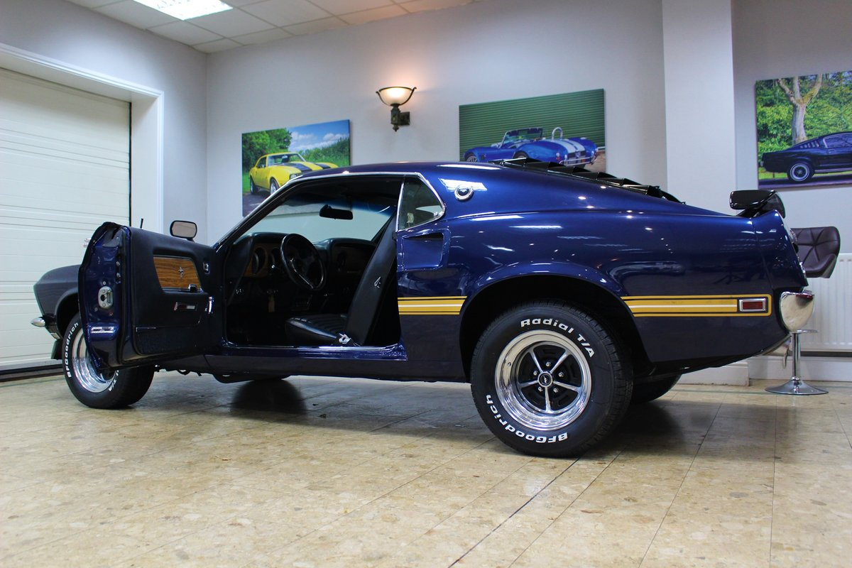 1969 Ford Mustang Mach 1 351 V8 Fastback Auto - Restored SOLD (picture 8 of 10)
