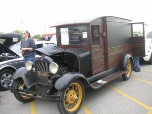 1929 Ford Model A Mail Truck