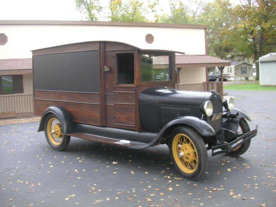 1929 Ford Model A Mail Truck For Sale (picture 2 of 6)