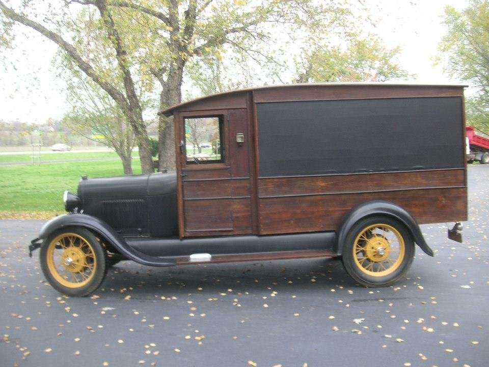 1929 Ford Model A Mail Truck For Sale (picture 3 of 6)