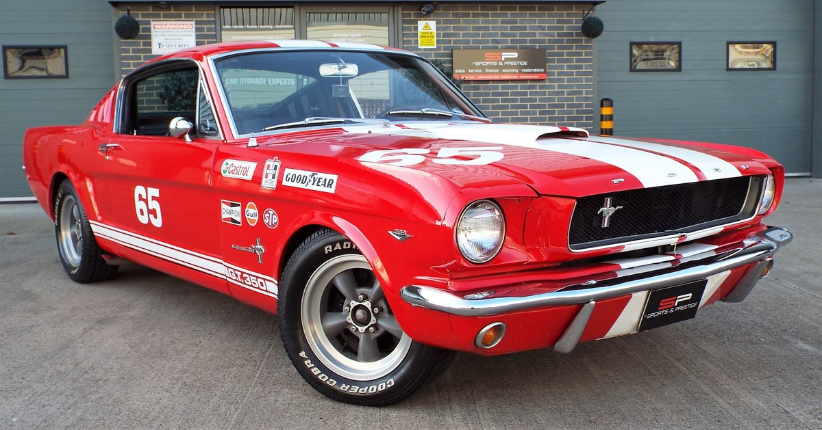 1965 Ford Mustang 4.7 V8 289 Manual Shelby GT350 Fastback For Sale (picture 1 of 12)