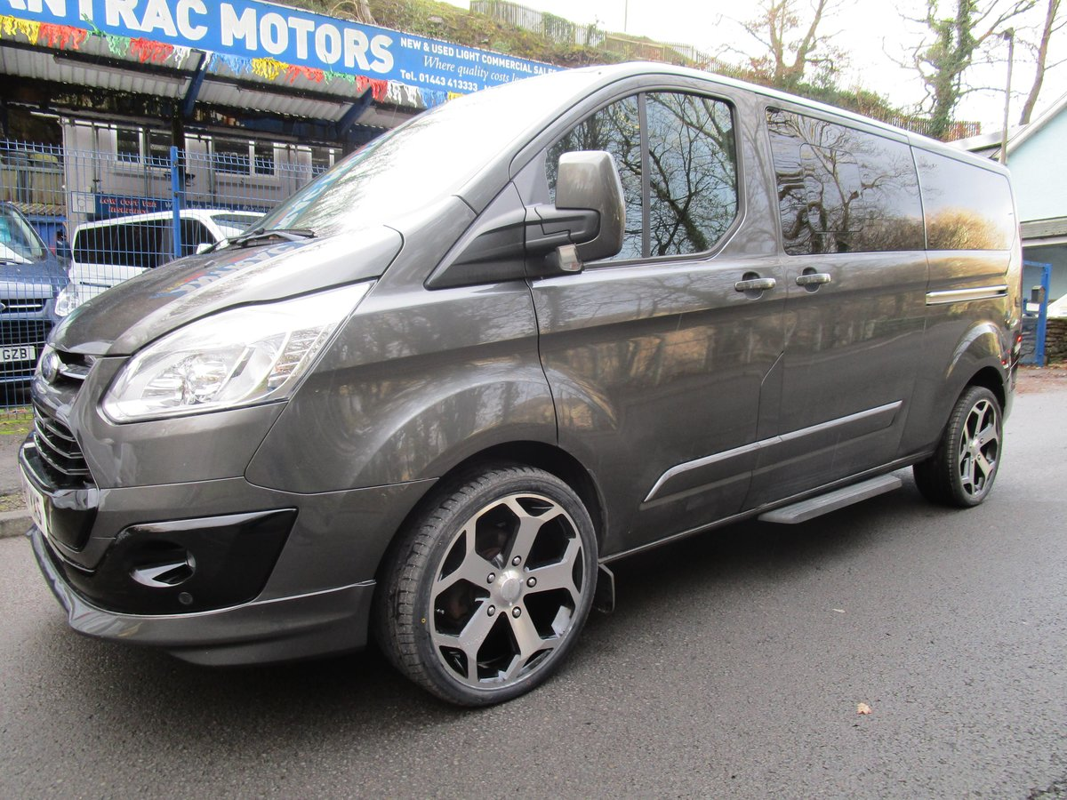 2017/ 17Ford Tourneo Custom 2.0TDCi 9 SEATER For Sale (picture 1 of 6)