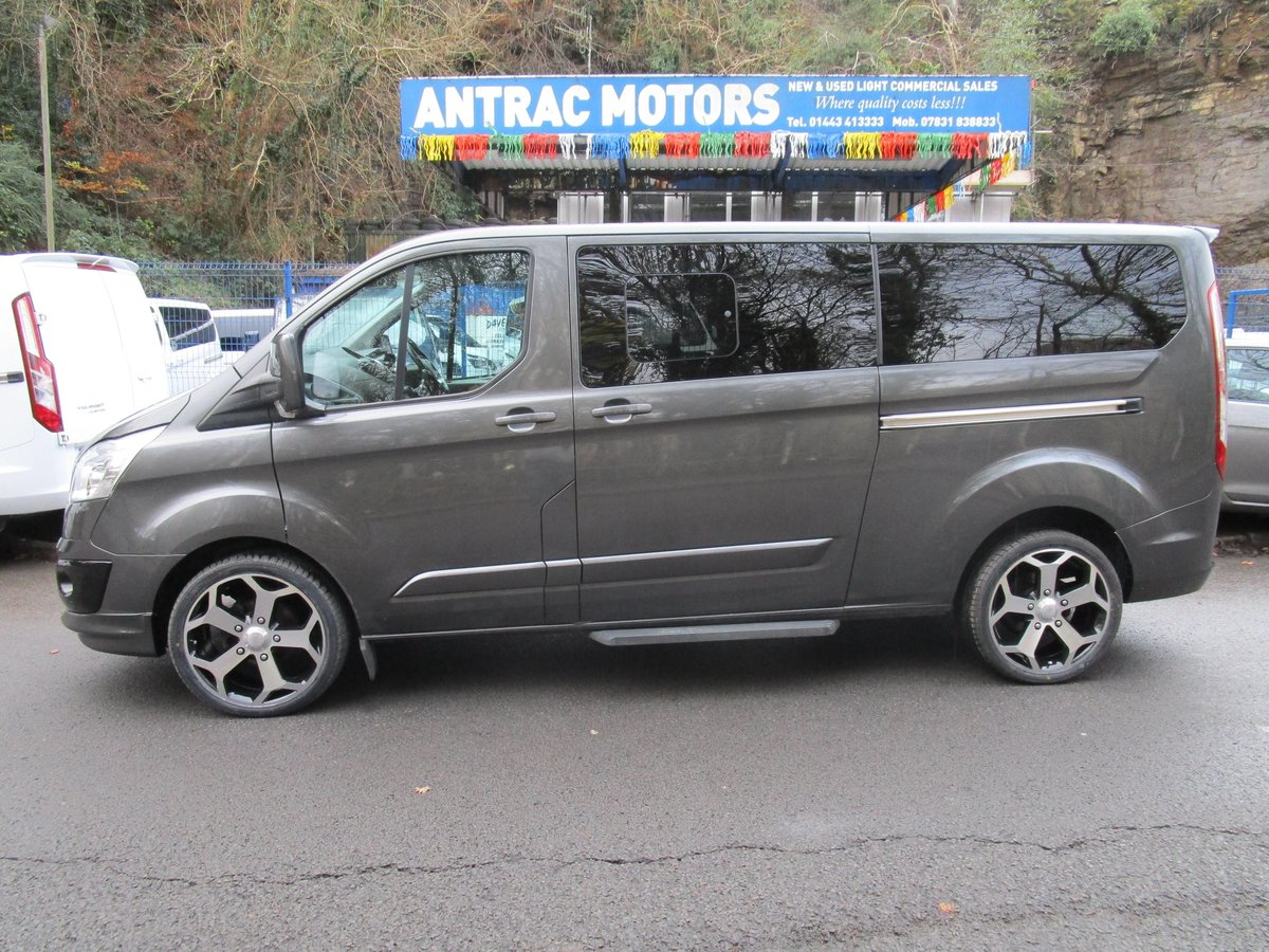 2017/ 17Ford Tourneo Custom 2.0TDCi 9 SEATER For Sale (picture 2 of 6)