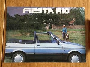 Picture of 1977 Ford Fiesta Rio brochure