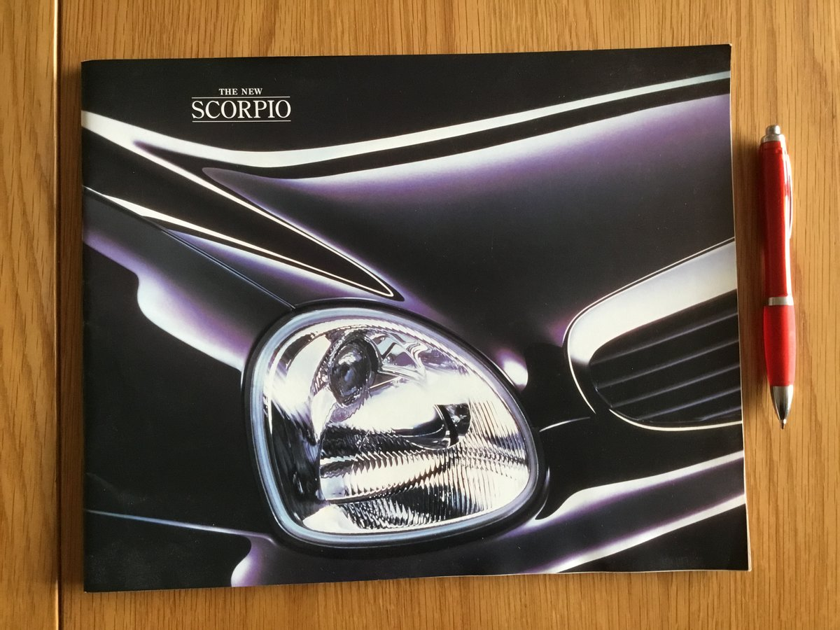 1994 Ford Scorpio brochure For Sale (picture 1 of 1)