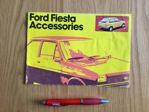 Ford Fiesta accessories brochure