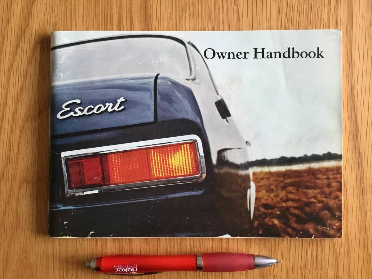 1970 Ford Escort Mk 1 handbook For Sale (picture 1 of 2)