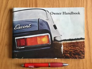 Picture of 1970 Ford Escort Mk 1 handbook For Sale