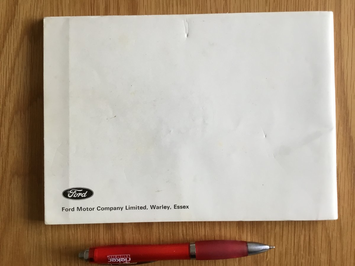 1970 Ford Escort Mk 1 handbook For Sale (picture 2 of 2)