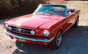 Ford Mustang GT V8 Convertible Restored to near concours con