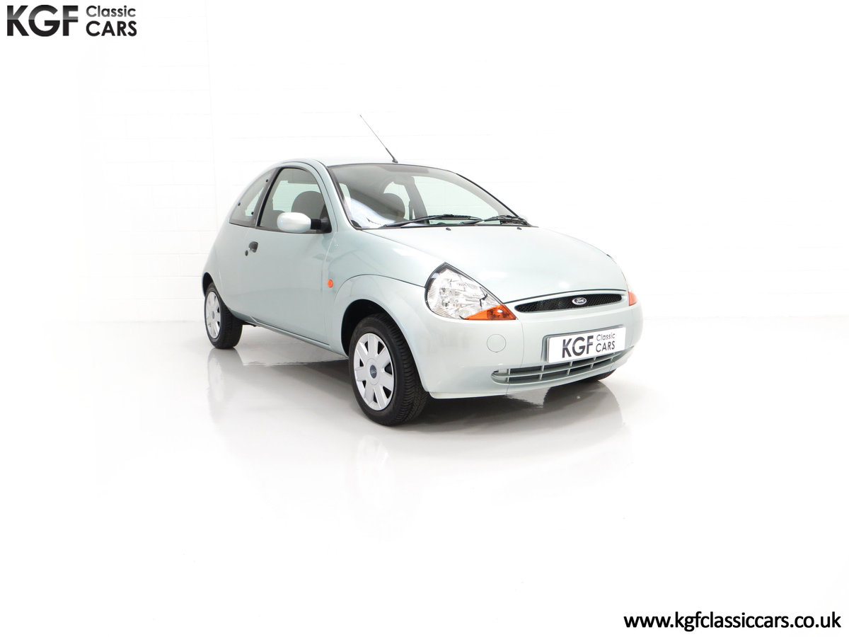 2004 An Outstanding Ford Ka Collection Family Owned, 9,705 Miles SOLD (picture 1 of 24)