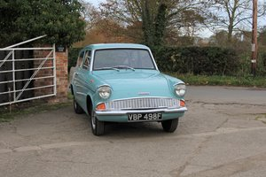 Ford Anglia 105E Deluxe 30000 Miles from new
