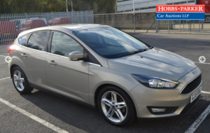 2015 Ford Focus Zetec 59,962 Miles for auction 25th