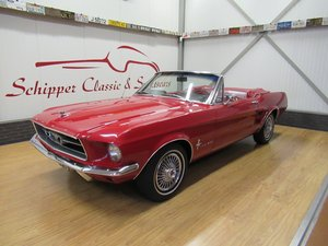Picture of 1967 Ford Mustang Convertible 289 V8 De Luxe For Sale