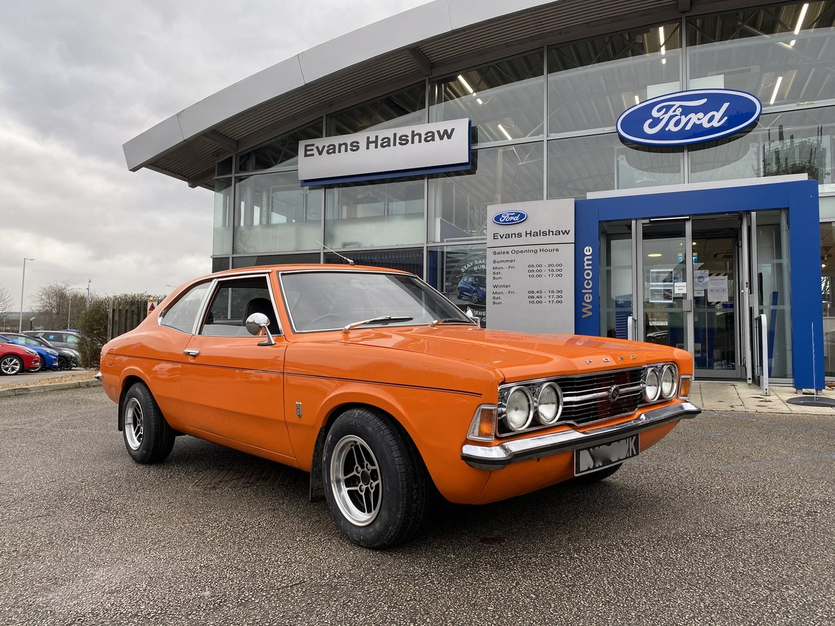 1972 FORD CORTINA MK3 GT FANTASTIC CONDITION £24995 PX ££ ESCORT For Sale (picture 1 of 6)